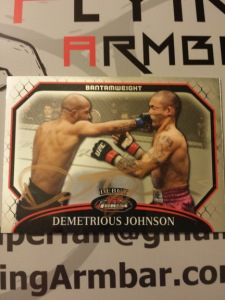 Demetrious Johnson 2011 Topps UFC Finest base card
