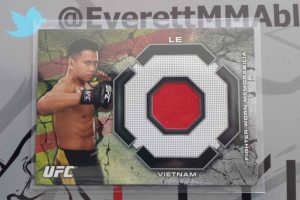2013 Topps Bloodlines Fighter Worn Relic Cung Le