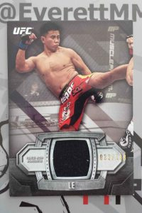 2014 Topps UFC Knockout Cung Le Fighter Worn Relic